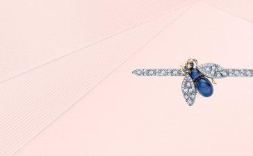 مجموعة بروشات ألماسية فاخرة للعروس