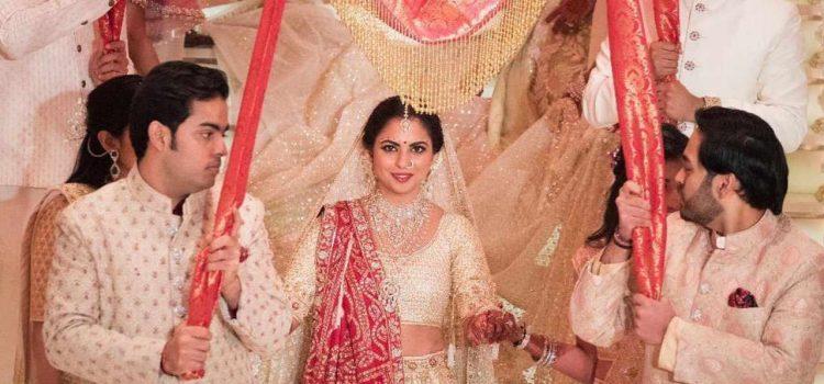 زفاف ابنة موكيش أمبيني