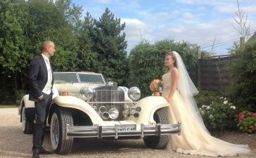 تزيين سيارة حفل الزفاف