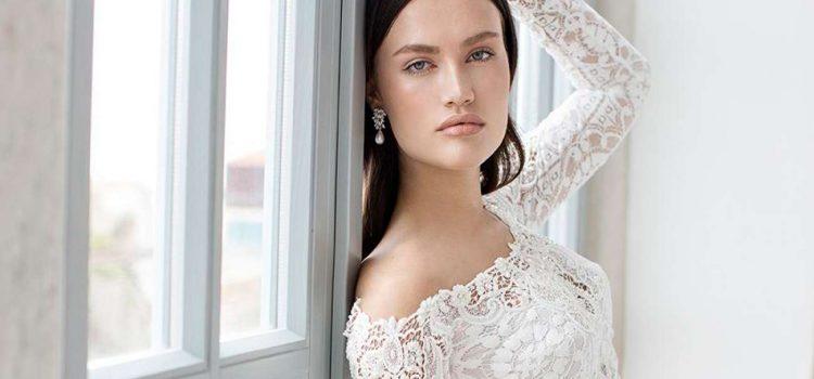فستان زفاف من قطعتين لعروس أكثر تميزا