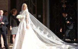 استلهمي فستان زفافك من المشاهير