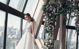 فساتين زفاف من تصميم طوني ورد لعروس 2019