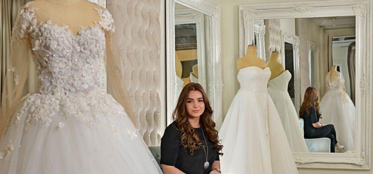 فساتين زفاف إيمان صعب