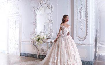 طرق إزالة البقع على فستان الزفاف