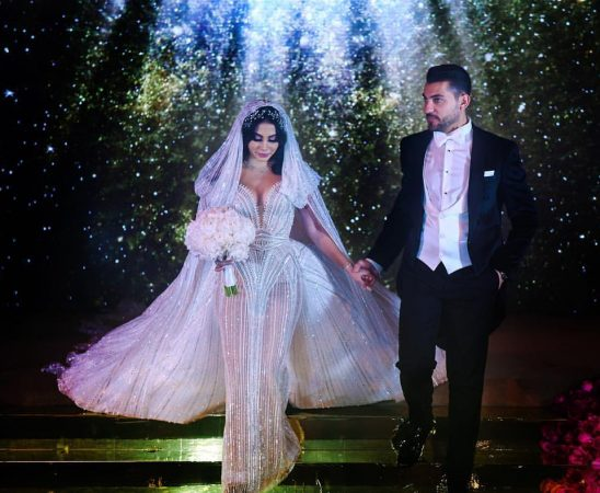 حفل زفاف ملكة جمال العرب
