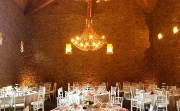تزيين طاولات حفل الزفاف