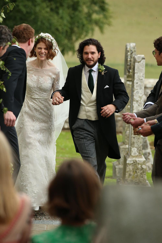 فساتين زفاف المشاهير