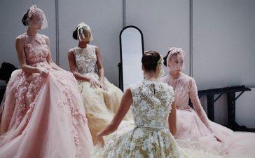 ألوان فساتين الزفاف باقة فاخرة بعيدا عن اللون الأبيض