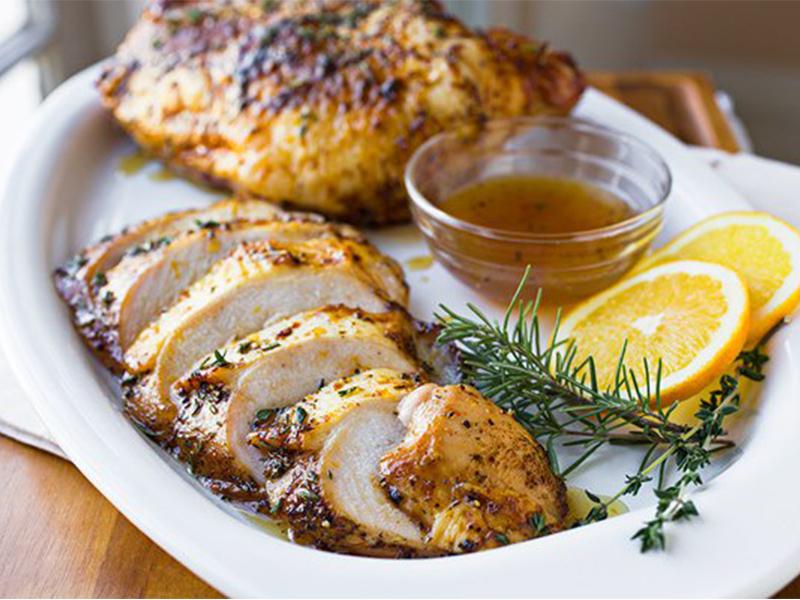 وصفة صدور دجاج دايت بالليمون والثوم