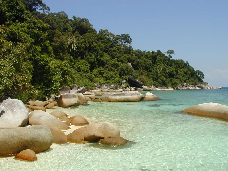 شهر عسل في ماليزيا جزيرة برهنتيان