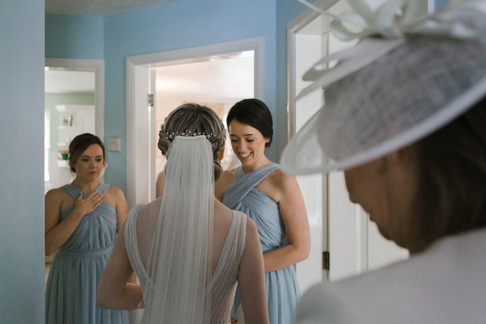 طرحة الزفاف الطويلة