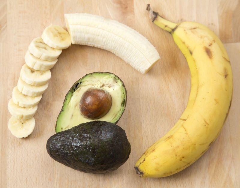 أقنعة الوجه للعروس قناع الموز والأفوكادو