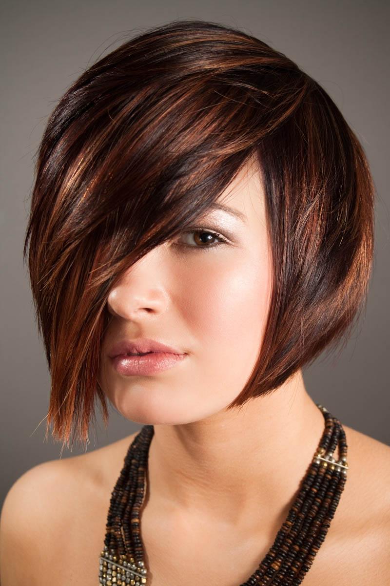 تسريحة شعر بسيطة شعر قصير