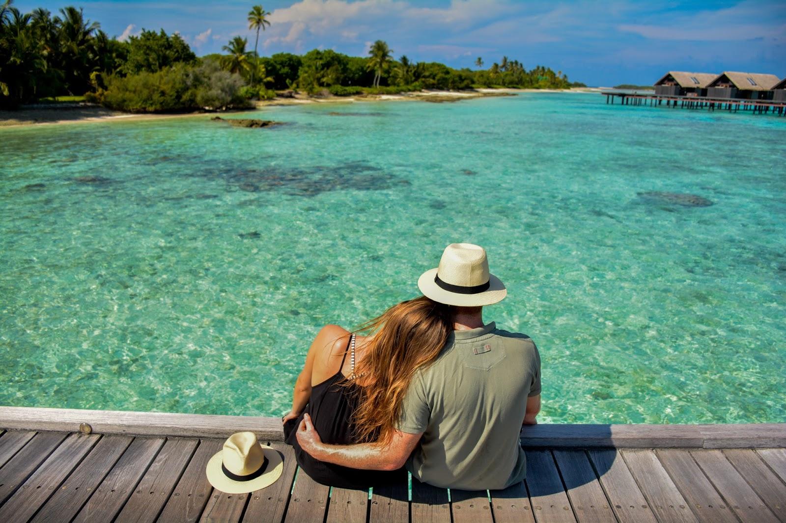 شهر عسل في الربيع : المالديف