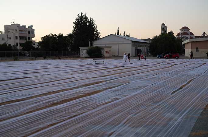 أطول طرحة زفاف في العالم