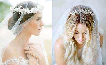 أكسسوارات الرأس للعروس