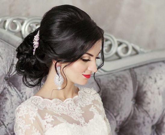 أفضل 40 تسريحة شعر ناعمة لعروس أكثر أناقة
