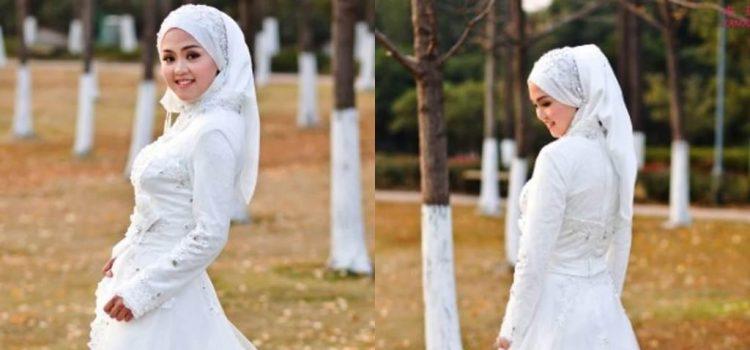 فساتين زفاف محجبات 2019