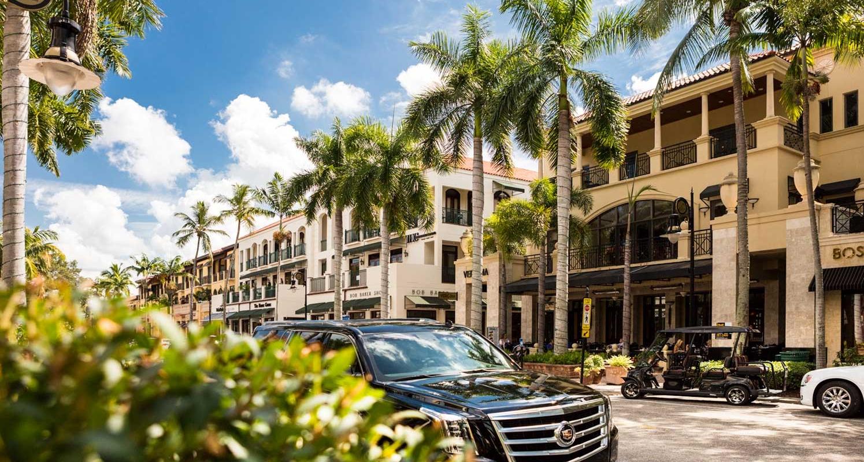 نابولي ، فلوريدا وجهات دافئة في الولايات المتحدة