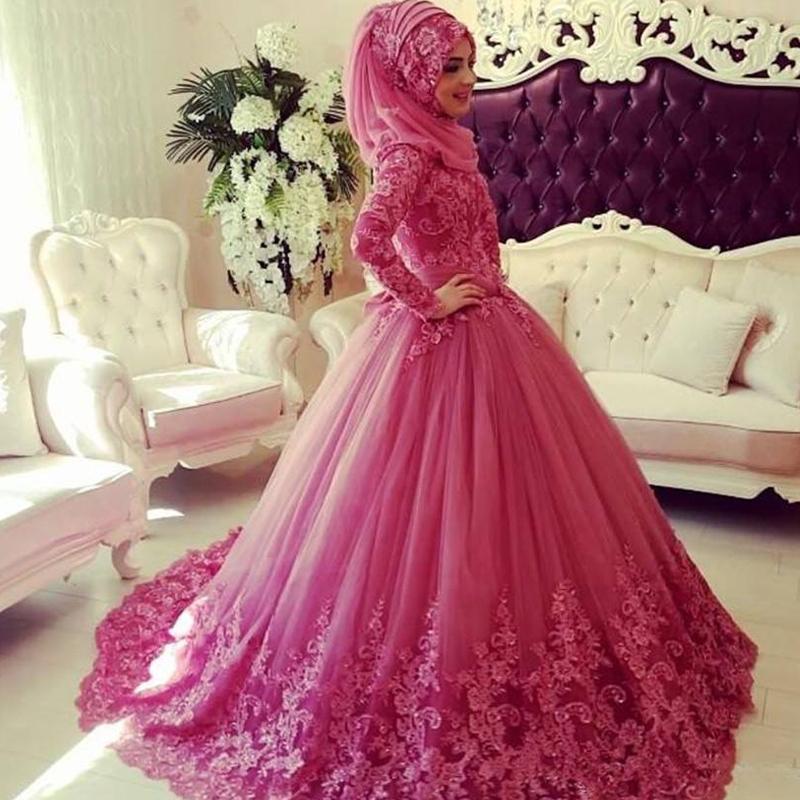 فستان زفاف بلون غير الأبيض