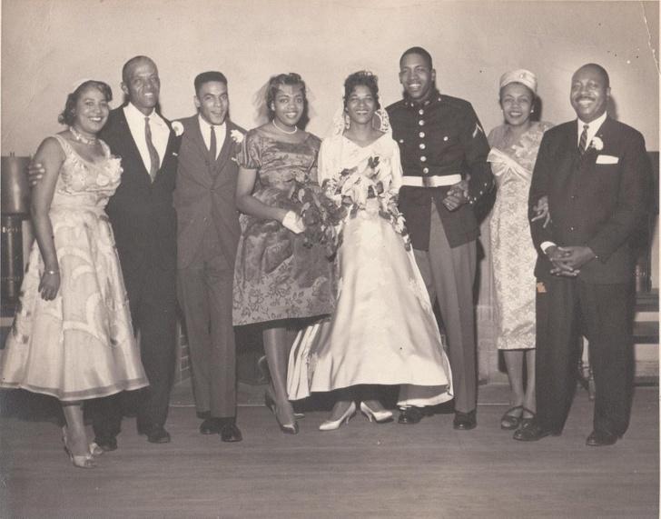 حفل زفاف من الماضي