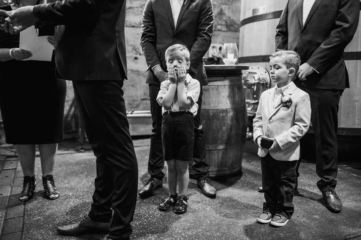 أطفال في زفاف