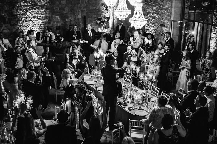 حفل زفاف كلاسيكي