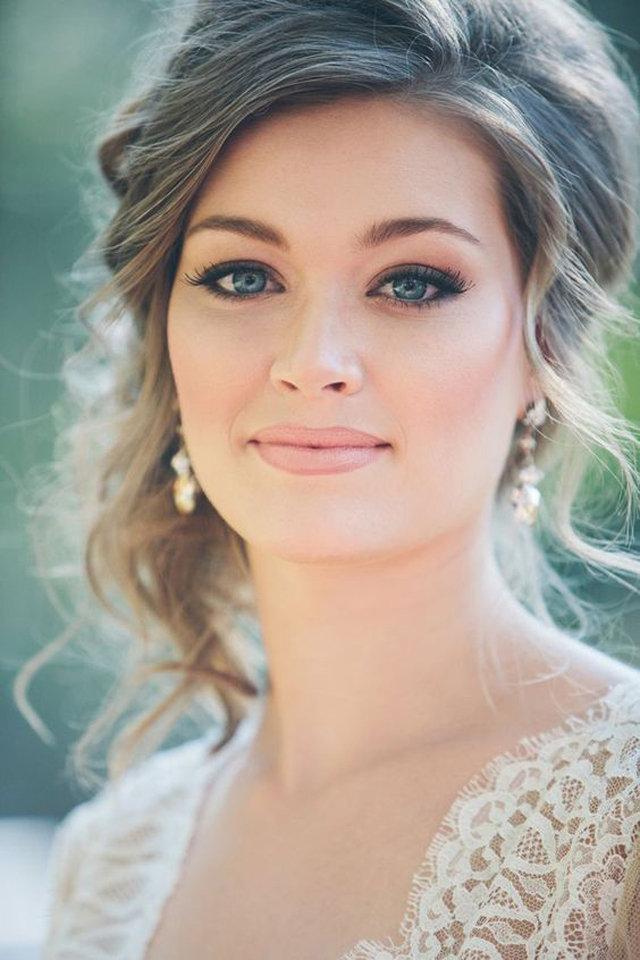 مكياج زفاف أنثوي