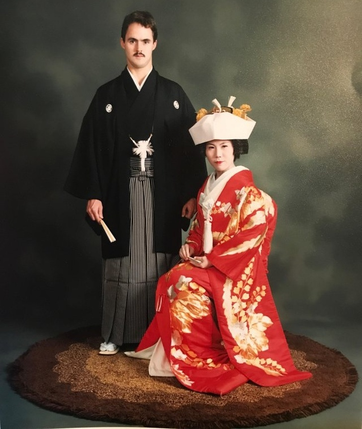 صور زفاف قديمة يابانية