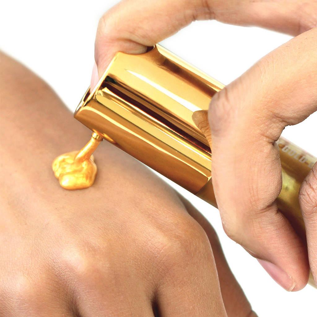 طريقة تطبيق قناع الذهب