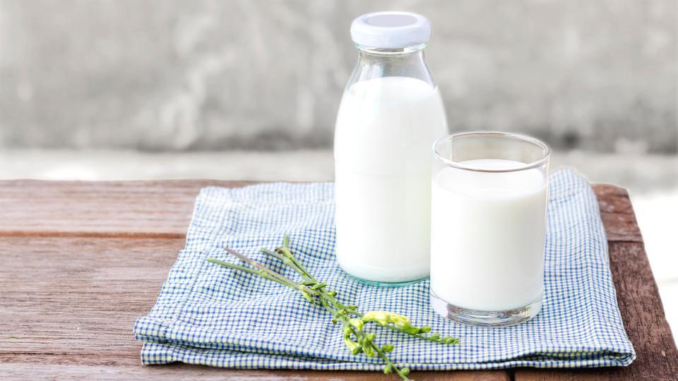 الحليب لتسمين الوجه