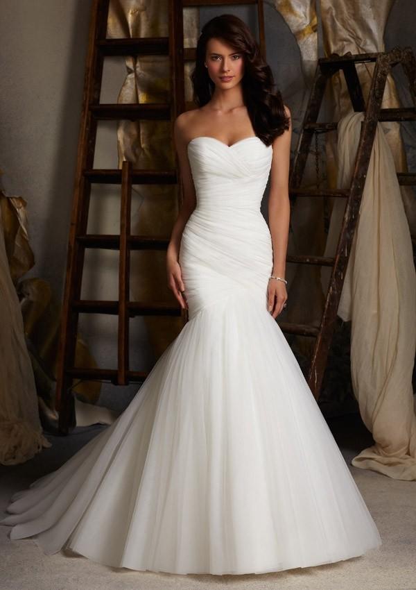 فستان زفاف جذاب