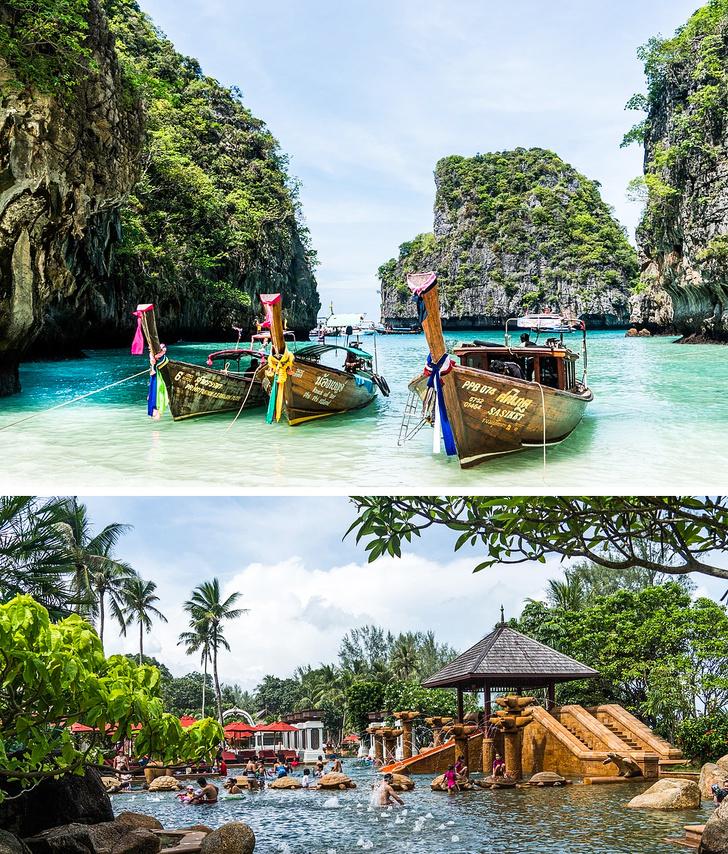 شهر عسل في تايلاند