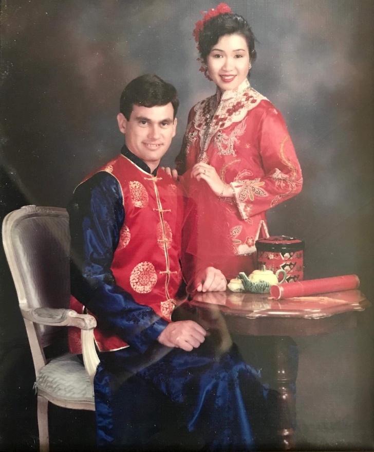 صور زفاف قديمة تقاليد صينية