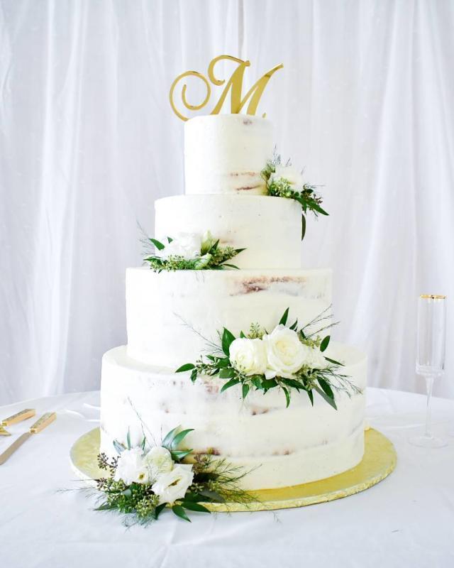 كعكة زفاف