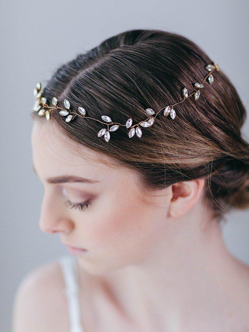 إكليل بسيط لعروس أكثر أناقة