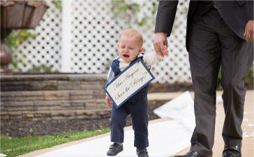 حفل زفاف بدون أطفال