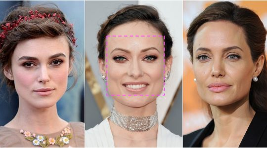 المكياج حسب شكل الوجه