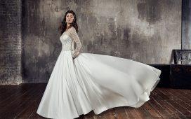 فستان زفاف طويل