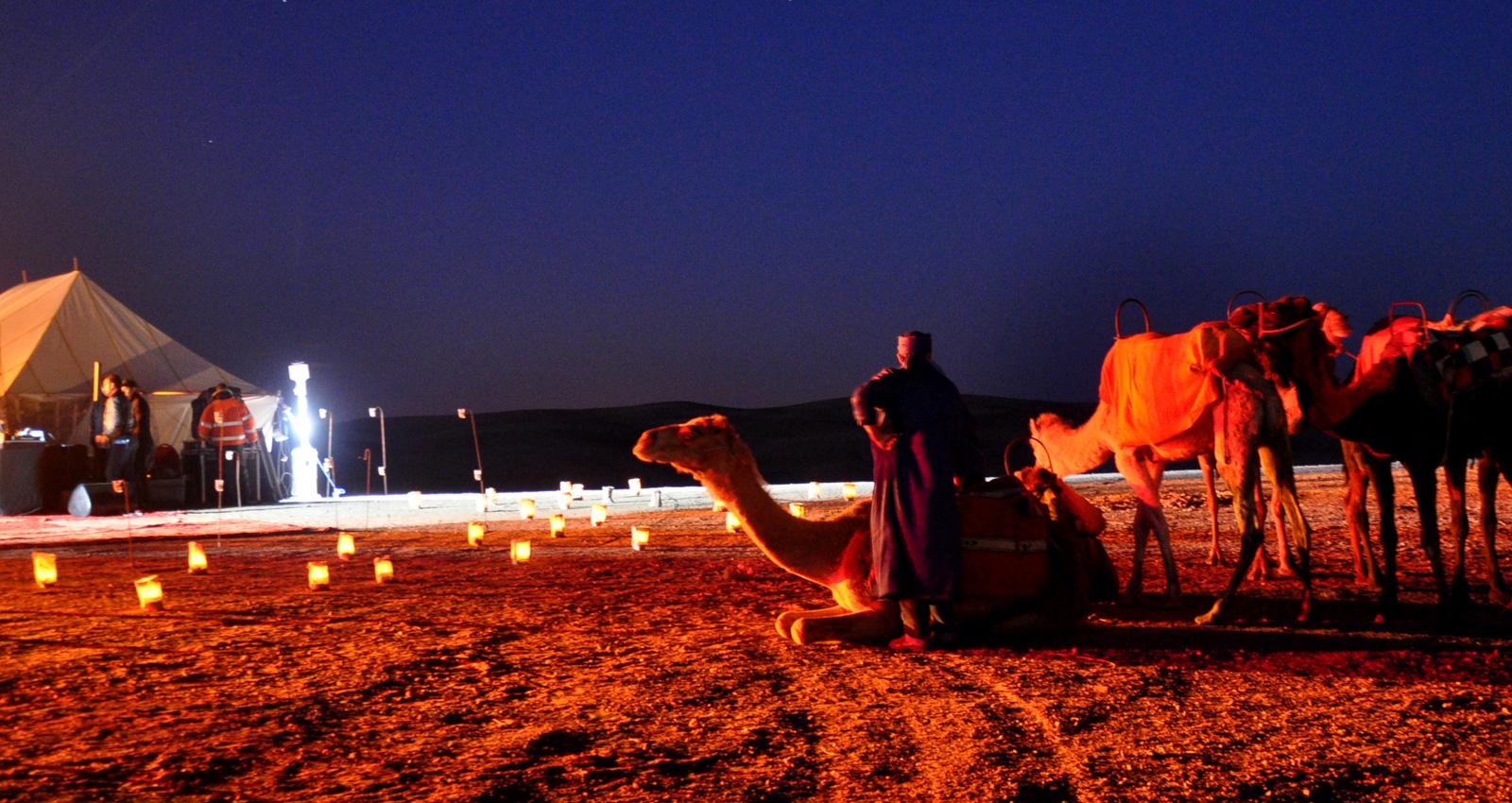 السياحة الصحراوية في المغرب