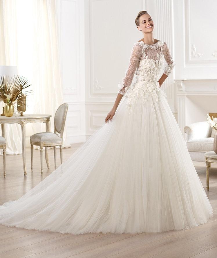 فستان زفاف عصري