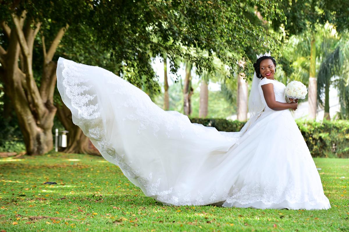 فستان زفاف كلاسيكي