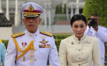 ملك تايلند يتزوج حارسته الشخصية