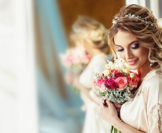 تسريحات شعر للعروس القمحية