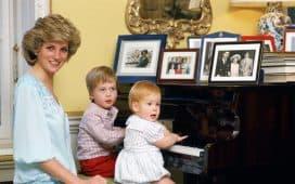 أبناء الأميرة ديانا يحتفلون بذكراها