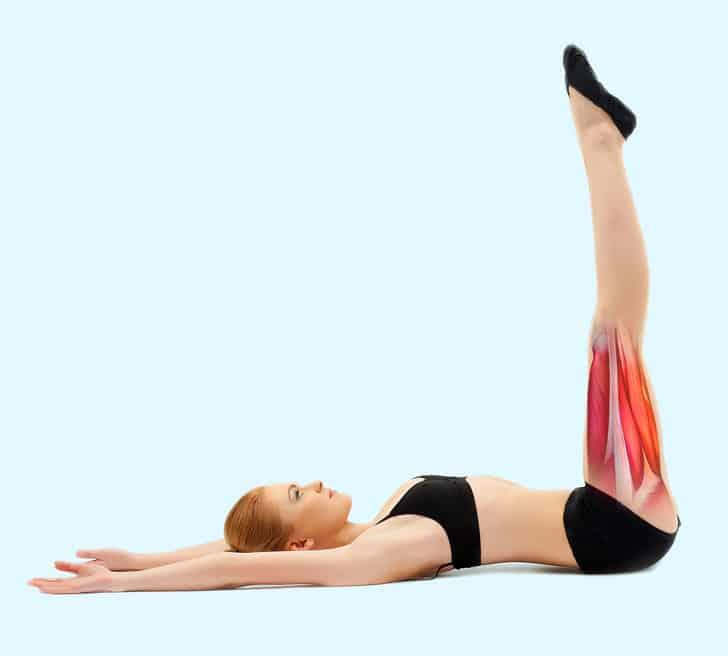 تقوية عضلات الفخذين والبطن