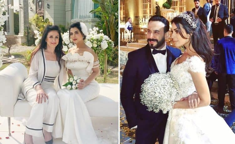 نجمات مسلسلات رمضان 2019 في فساتين الزفاف