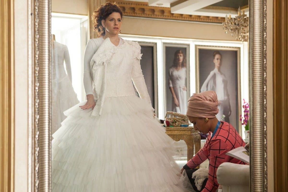 قبل 4 أسابيع : فستان الزفاف