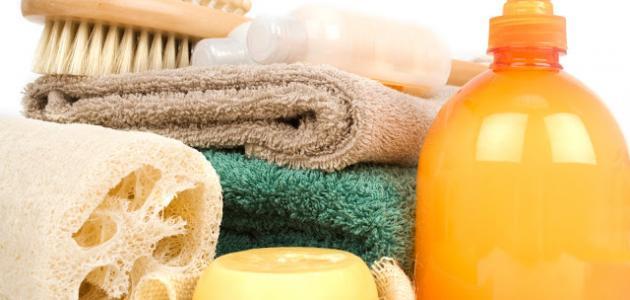 الغسول ومواد النظافة الشخصية