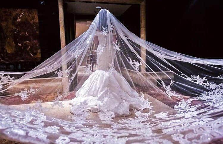 فساتين زفاف فخمه خليجيه لإطلالة متميزة